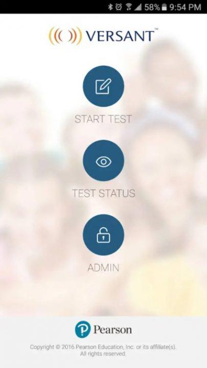 Versantスピーキングテスト受験アプリ1